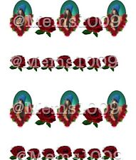 Chola Mexican Nail art water decals Free shipping