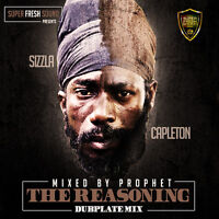SIZZLA & CAPLETON THE REASONING DUB PLATE MIX CD