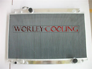 Aluminum radiator for LEXUS SC300 JZZ30 93-98 TOYOTA SOARER JZZ31 MT 1991-2000