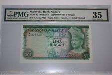 (PL) RM 5 A/12 227523 PMG 35 ISMAIL ALI 1ST SERIES