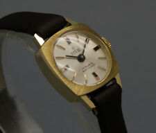 New Old Stock 60s tiny POTENS 18K GOLD cokctail vintage MECHANICAL watch NOS