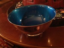 Reed & Barton Silver Plated Serving Bowl  with Enamel Lining