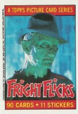 FRIGHT FLICKS   BASE / BASIC  CARDS OR STICKERS  CHOOSE  BY TOPPS 1988