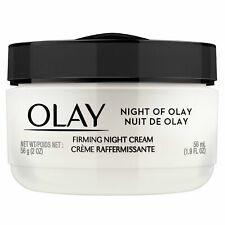 Olay Night of Olay Firming Night Cream Face Moisturizing 1.9 fl oz (Pack of 12)