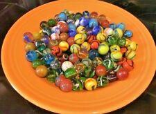 150 Glass Marbles Mix - Premium Mega / Vacor Marbles - Hand Mixed Set