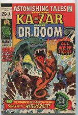 Astonishing Tales -Kazar And Dr. Doom  #8 VF Marvel Comics SA