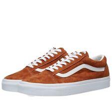 Vans pig suede old skool leather brown