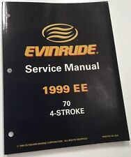 GENUINE EVINRUDE SERVICE MANUAL 70HP 4-STROKE MODEL YEAR 1999