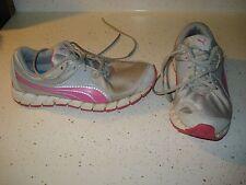 PUMA Women's Athletic Shoes Size 7.5 L@@K !! GRAY PINK