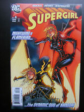 SUPERGIRL #6 (2006) VARIANT - SIGNED BY GREG RUCKA - DC COMICS