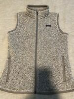 NEW Patagonia Womens Small Better Sweater Vest.  Birch White (Grey).