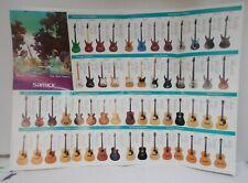 SAMICK GUITARS The New Classics POSTER - Sales Brochure