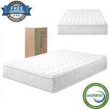 "Extra Firm Pillow Top Bedroom Innerspring Mattress Box 10"" Twin Full Queen King"