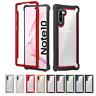 For Samsung Galaxy Note 10+ 9 S9 S10 Plus Armor Hybrid Clear TPU Case Hard Cover