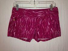 EXPRESS pink mini shorts tag size 0 actual W29 L2.5 rise 7
