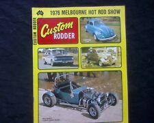 Custom Rodder Australia 1976 Issue 34, 1936 Ford, T Bucket, EH & HR Holden VW