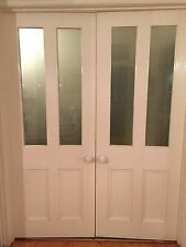 Interior timber French doors