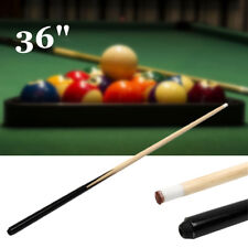 36'' Children Kids Wood Jointed Cue Pool Stick Snooker Billiards Play Sport Game