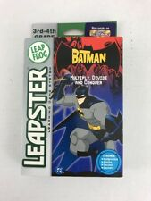 NEW 2005 LEAPSTER BATMAN MULTIPLY DIVIDE AND CONQUER LEARNING SYSTEM GRADE 3 - 4