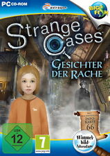 STRANGE CASES * GESICHTER DER RACHE * WIMMELBILD-SPIEL  PC CD-ROM