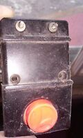 Vintage lionel train control switch Parts restore
