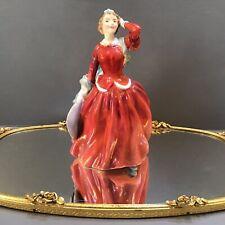 "Royal Doulton Figurine ""Blithe Morning"" Hn2065 By Leslie Harradine England 1948"