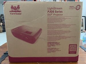 ViewSonic LightStream PJD5155 SVGA 3D DLP Projector Brand New Never Used