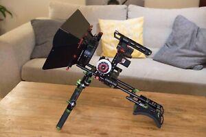 CAME-TV DSLR Cage, Hand Grip, Shoulder Rig, Mattebox, Follow Focus For GH4 & A7s