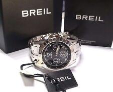 Orologio Breil Enclosure TW1208 donna acciaio nero madreperla cronografo datario