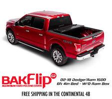 Bakflip G2 Tri Fold Tonneau Cover 02-18 Dodge Ram 1500 6ft 4in Bed w/o Ram Box