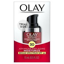 Olay Regenerist Micro-Sculpting Cream Face Moisturizer with SPF 30, Trial...