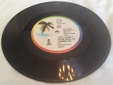"U2 I STILL HAVEN'T FOUND WHAT IM LOOKING FOR JB SOLID CENTRE UK Promo 7"" Rare"