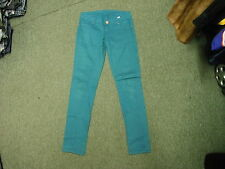 "J Welly Skinny Jeans Waist 30"" Leg 30"" Faded Aqua Green Ladies Jeans"
