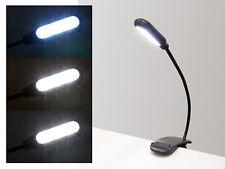 LED Klemmleuchte dimmbar Leselampe Tischlampe Schreibtisch Büro Leuchte flexibel