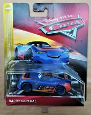 Disney Pixar Cars 3 NEXT GEN BARRY DEPEDAL # 54 2018 Nuovo in Blister Perfetto