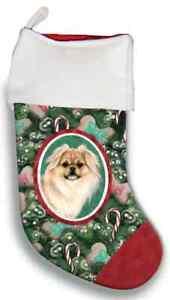 Tibetan Spaniel Christmas Stocking