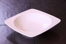 6x Teller Porzellan Speiseteller Gastronomie Weiß Suppenteller Set 21,5cm
