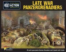 Late Krieg Panzergrenadiere - Warlord Games - Bolzen Aktion - 28MM 1/56 Deutsche