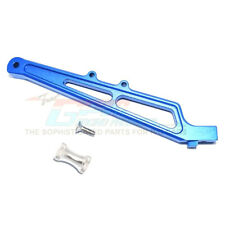 GPM Racing Aluminum Rear Chassis Brace & Collar Blue : Limitless / Infraction