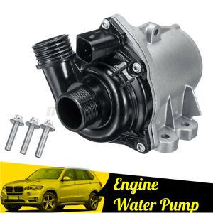 Electric Engine Water Pump w/ Bolts 11517563659 For BMW 335xi 335i 135i 535i USA