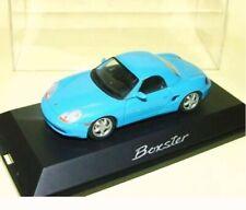 PORSCHE BOXSTER Hardtop Blue04232 Schuco 1:43 New in a box!
