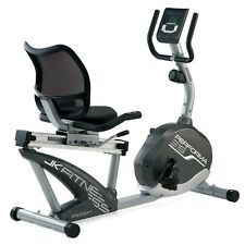Cyclette orizzontale magnetica PERFORMA 315 Jk Fitness recumbent volano 6 kg