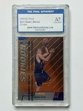 Shawn Marion #121 Rookie Card RC TFA 10 Topps 1999-00