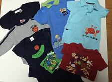 Infant Boys One-Piece  Lot Of 7, Size 0-3, 3-6 and 6-9