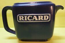 COLLECTOR , PICHET RICARD , 0,5L , RECTANGULAIRE , EN PORCELAINE BLEU , PR36
