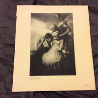Vintage Book Print - Once and Now - Goya - 1938