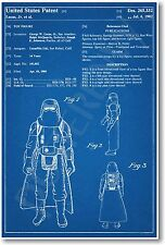 Star Wars Hoth Storm Trooper Patent - NEW Invention Patent Movie Art POSTER