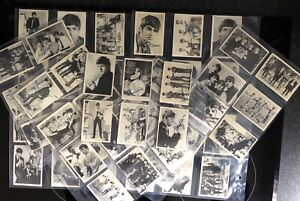 BEATLES,A&BC FULL SET GUM CARDS,1ST SERIES 01-60 (X60 CARDS)) GOOD CONDITION.