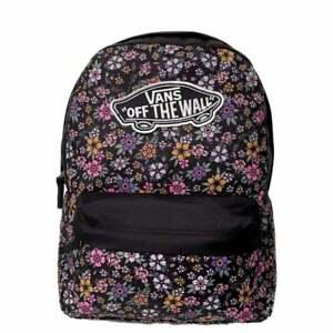 VANS Girls Realm Backpack Fun Floral VN0A4ULTYZ61 VANS Schoolbag