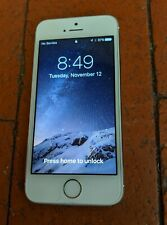 PRISTINE SILVER APPLE iPHONE 5s A1533 AT&T